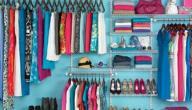 طريقة ترتيب خزانة الملابس