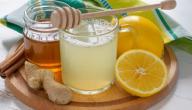 فوائد العسل والماء على الريق