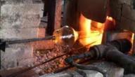 كيف صنع الزجاج