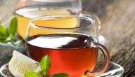 فوائد شاي الليمون الاسود