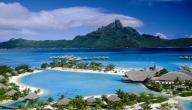 موقع جزيرة بورا بورا