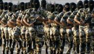 عدد قوات الجيش السعودي