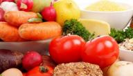 مأكولات تحتوي على البروتين