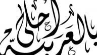 من اين اتت اللغة العربية