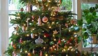 طريقة تزيين شجرة عيد الميلاد