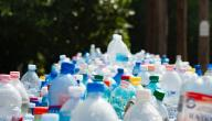 إعادة تدوير قناني الماء