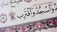 عدد سجدات التلاوة في القرآن الكريم