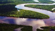 أين يقع نهر الأمازون؟
