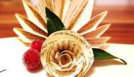 كيفية صنع الورد بالورق