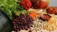 الأكلات التي تحتوي على الحديد