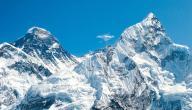 أين يقع جبل إيفرست؟