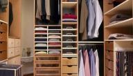 كيفية ترتيب الملابس