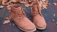 طرق تنظيف أحذية الشامواه