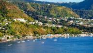 أين تقع جزيرة دومينيكا