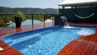 أشكال حمامات سباحة