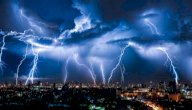 دعاء الرعد والبرق وسقوط المطر