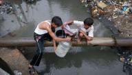 الامراض الناتجة عن تلوث الماء