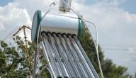 مبدأ عمل السخان الشمسي