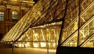 كم عدد صالات العرض في متحف اللوفر