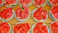 فوائد بذور البطيخ الاحمر