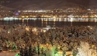 مدينة الثلج في اسطنبول