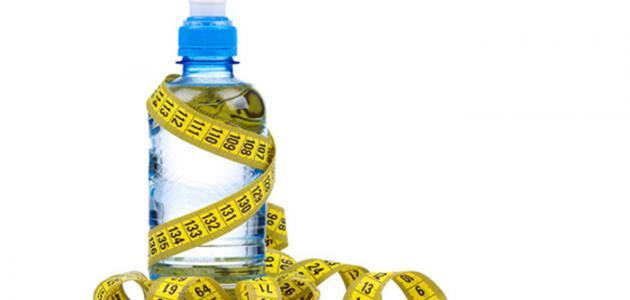طريقة تخفيف الوزن بالماء