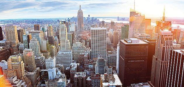 كم عدد سكان نيويورك