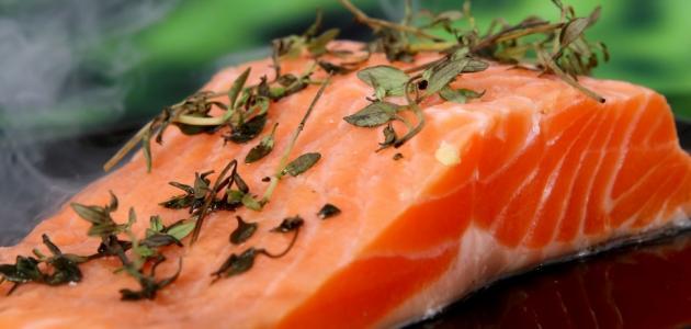 فوائد سمك السلمون للرجال
