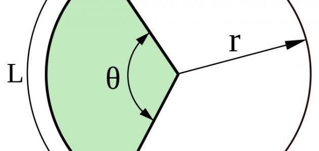 طريقة حساب مساحة الدائرة