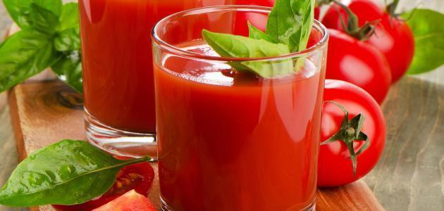 فوائد عصير الطماطم المعلب
