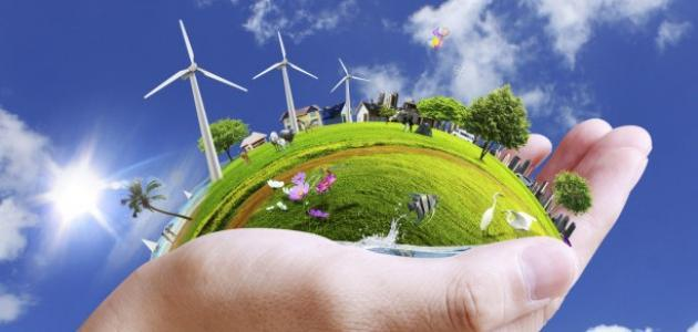 مفهوم البيئة وعناصرها