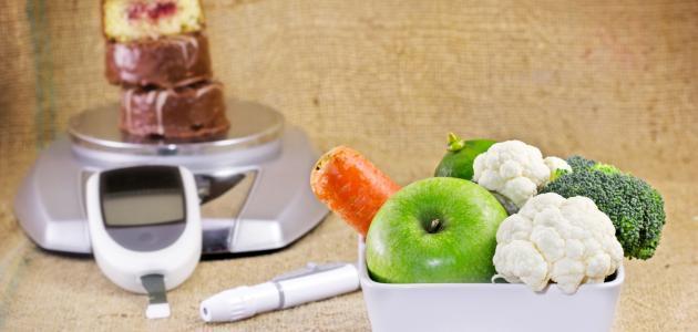 نظام غذائي للسكري