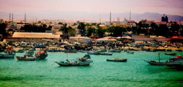 اين تقع الصومال