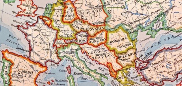كم دولة في قارة اوروبا