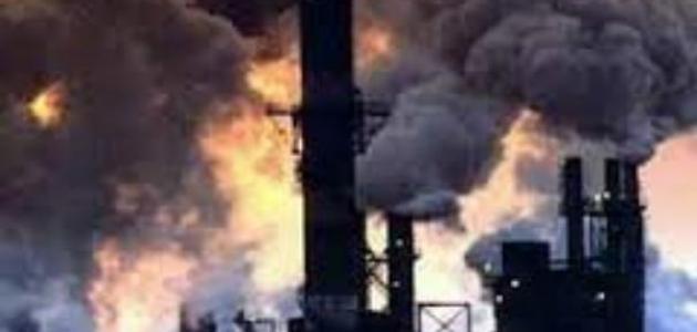 ما هي انواع التلوث