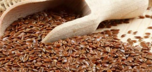 طريقة استخدام بذرة الكتان للرجيم