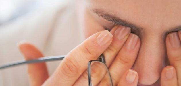 انخفاض ضغط العين