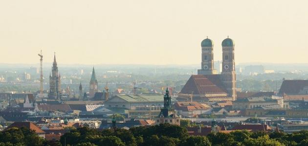 المدن القريبة من ميونخ