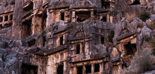 آثار تركيا القديمة