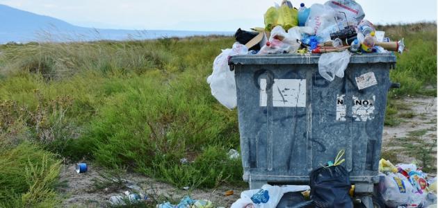 أسباب مشكلة كثرة النفايات