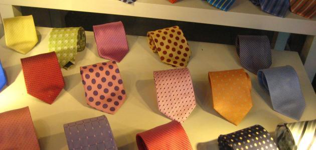 طرق ربط ربطة العنق