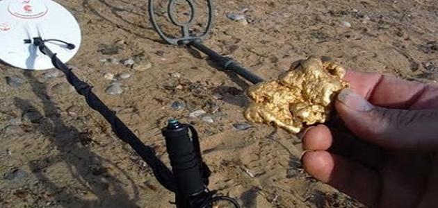 صناعة كاشف الذهب