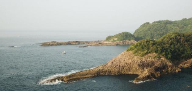 جزيرة بونشاك في اندونيسيا