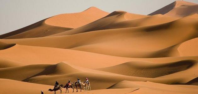 ما هي اكبر صحراء بالعالم