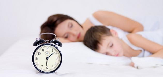 كيف انظم وقت نومي