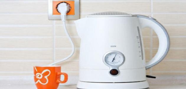 أضرار سخّان الشاي الكهربائي