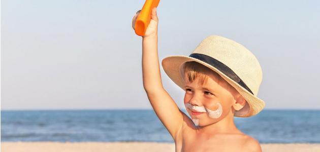 الحماية من أشعة الشمس