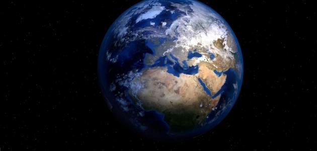 بحث حول كوكب الأرض