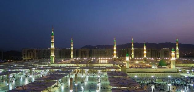 أين يقع المسجد النبوي