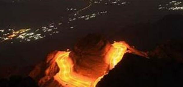 أين يقع جبل غزوان؟